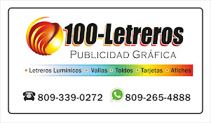 100 Letreros