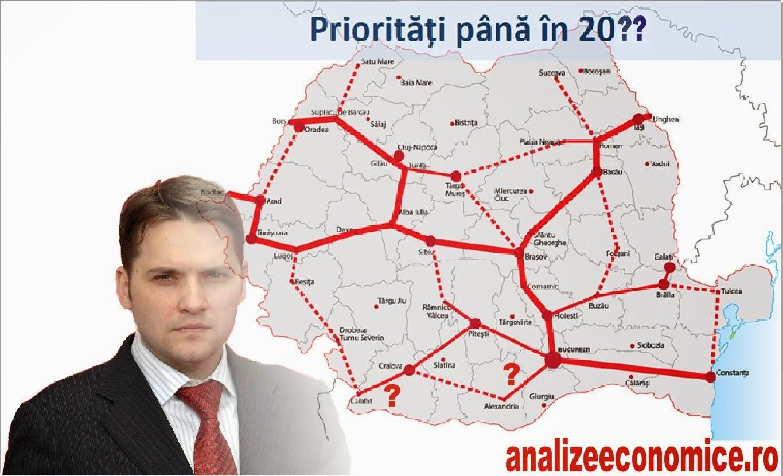 Harta autostrăzilor din România după Șova