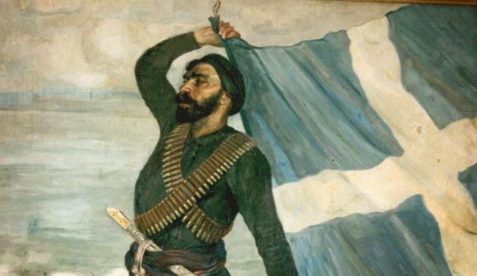 9 Φεβρουαρίου 1897:Ο Σπύρος Καγιαλές κάνει το κορμί του ιστό για την Ελληνική σημαία!