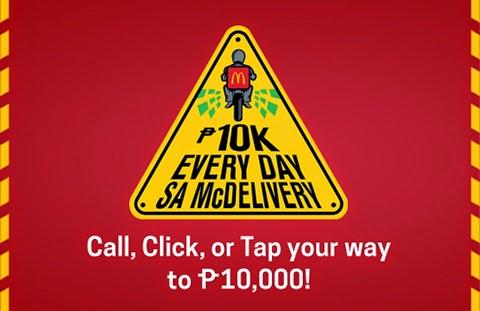McDonalds Philippines Promo, promotion Philippines, contest