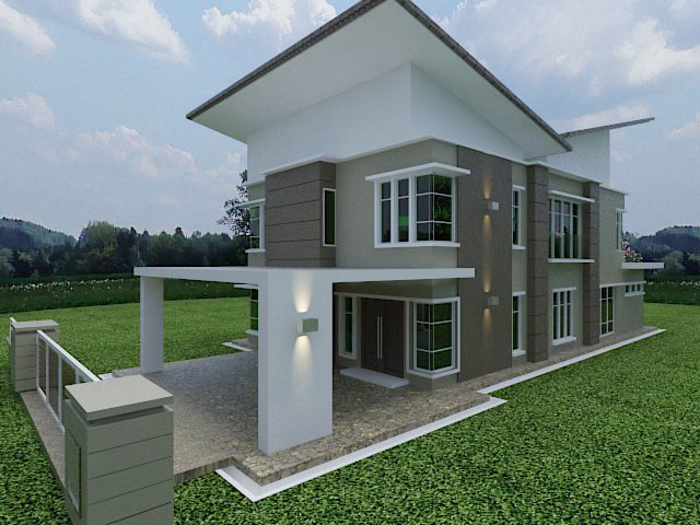 Stylecraft Design Double Storey Bungalow