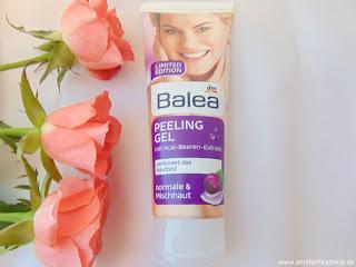 Balea Peeling Gel - mit Acai Beeren Extrakt - www.annitschkasblog.de