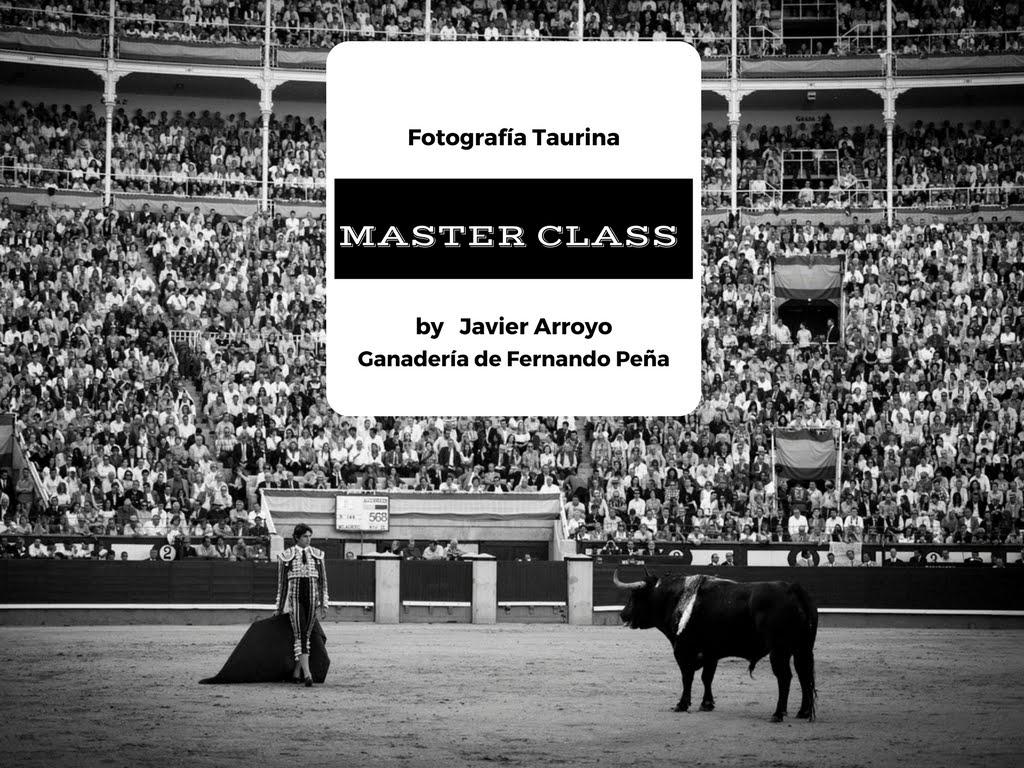 Master Class de Fotografía Taurina en la Ganadería de Fernando Peña