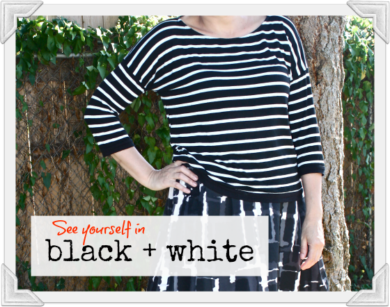 Outfit Post: Visible in Black + White
