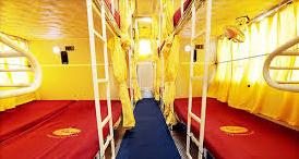 SRS Sleeper Bus inside