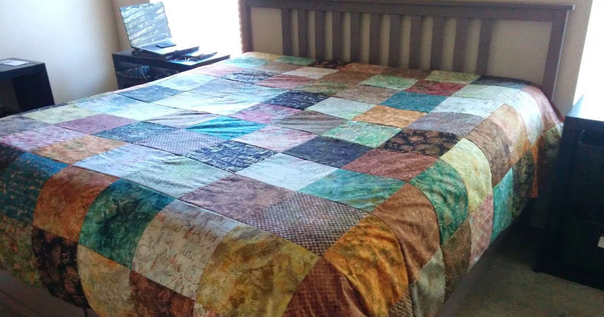 Lets Quilt Something Fast Kind Size Quilt Made With