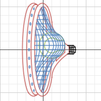 Tennis Racquet created on desmos.com