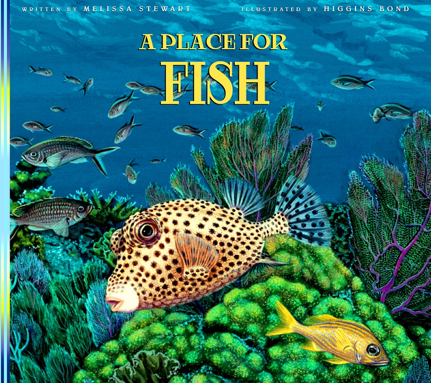 Archimedes notebook a place for fish book giveaway for The fish place
