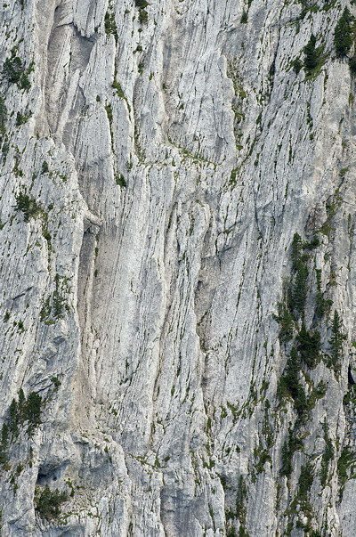 Detail of the cliffs of Bargy mountain