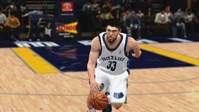 NBA 2K13 Marc Gasol Grizzlies Playoffs Update