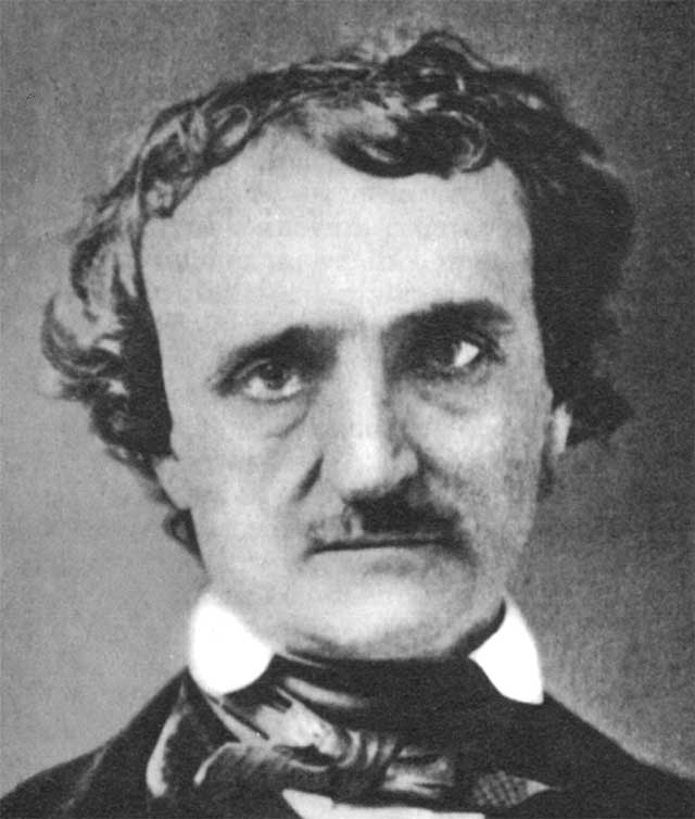"edgar a poe Edgar allan poe was a 19th century american author and poet his most famous  poem, ""the raven"", begins with the often quoted line, ""once upon a midnight."