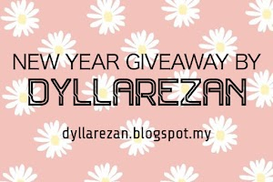 NEW YEAR GIVEAWAY BY DYLLAREZAN
