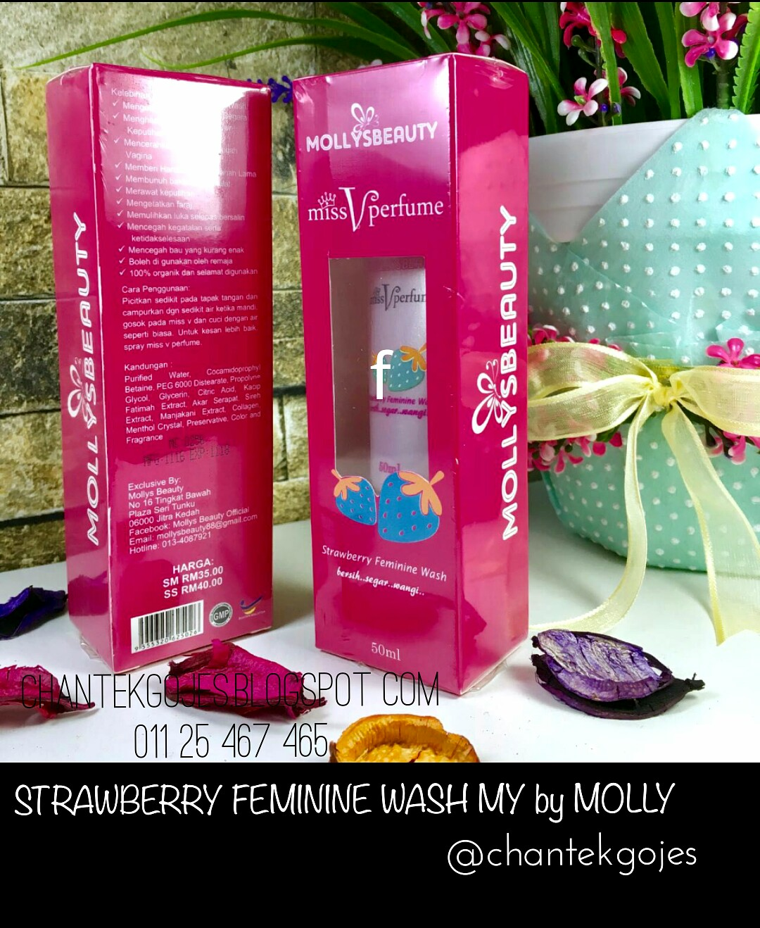 Feminine Wash by Mollys Beauty