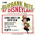 Burbank Nite at Disneyland - 1969