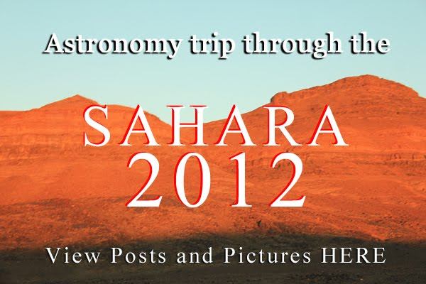 Read Club's astronomy trip in  the Sahara