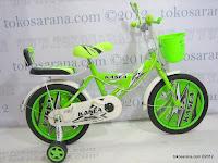 1 Sepeda Anak Kasea 12D R300 16 Inci