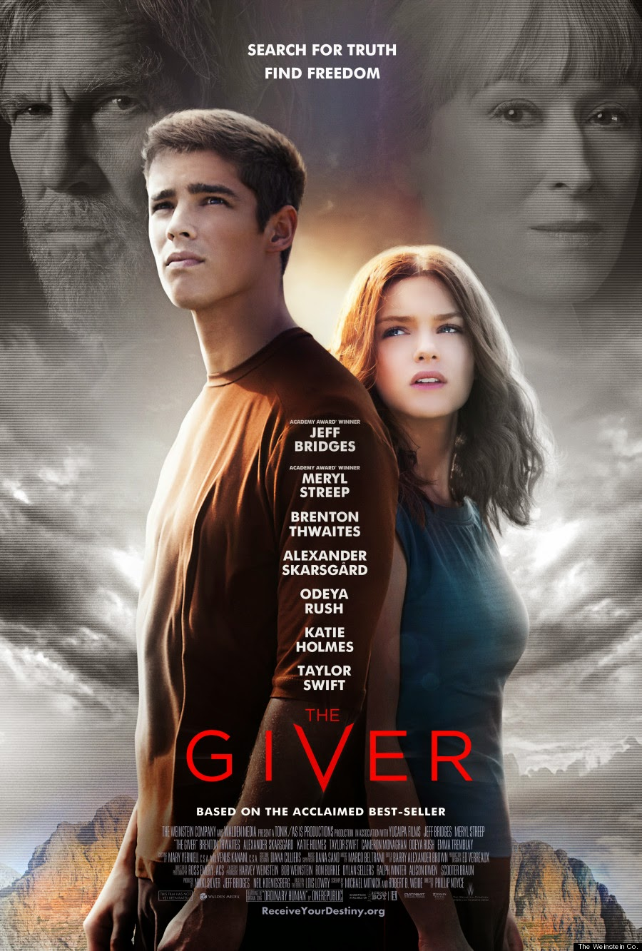 The Giver (2014) Poster