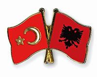 Turkey and Albania flags