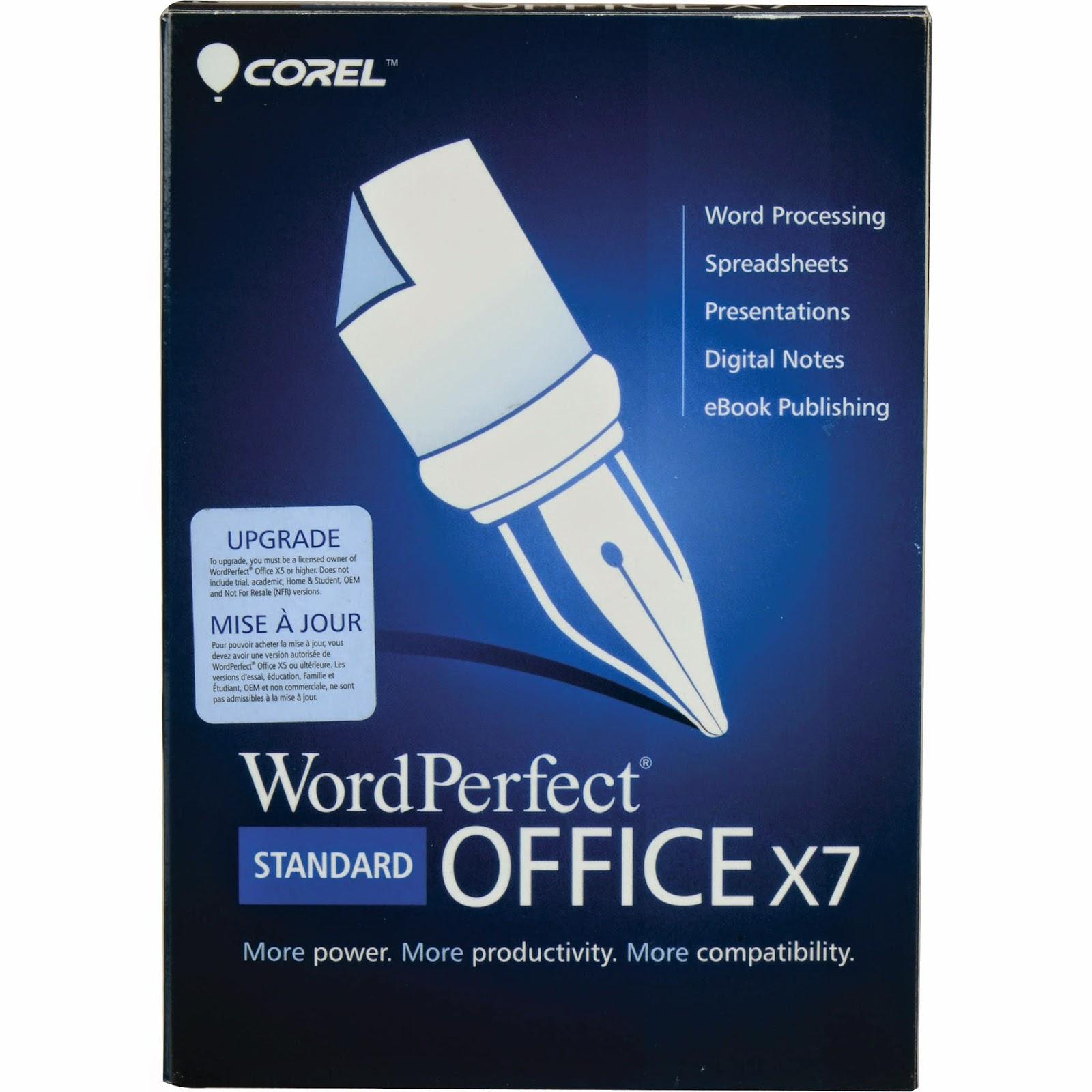 Corel wordperfect suite 7 serial number