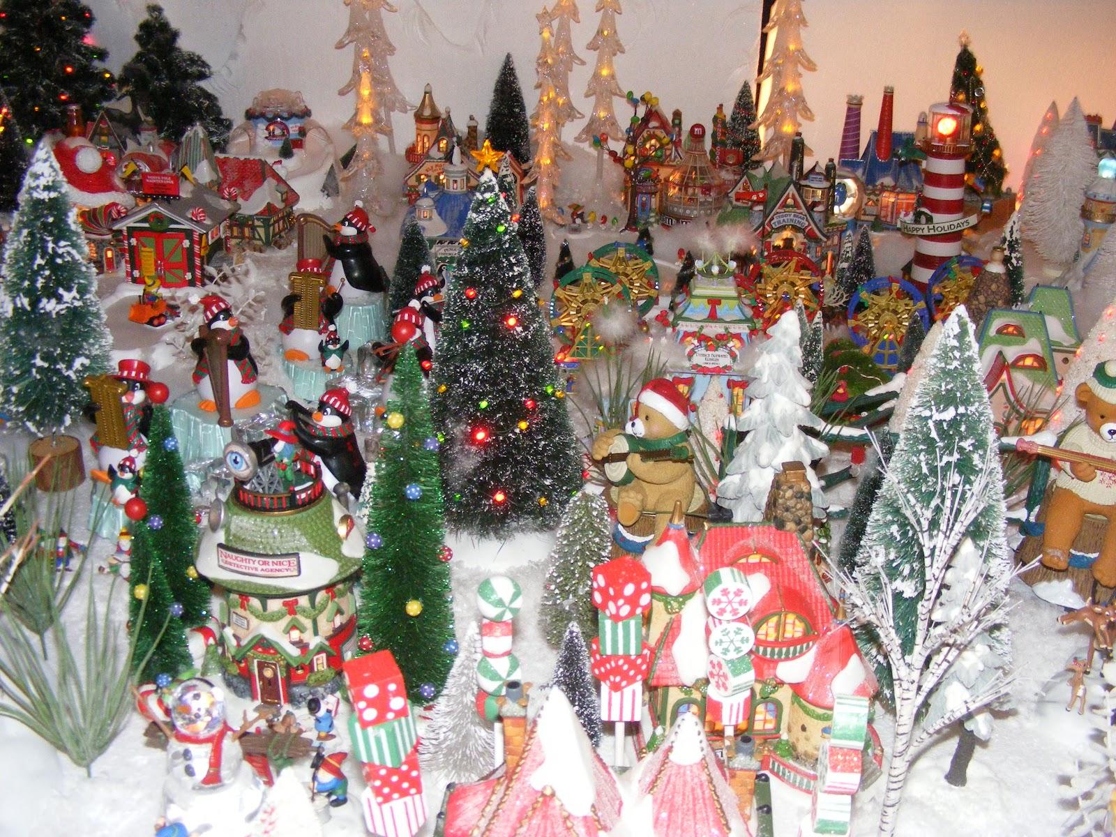 Christmas Village Fun Blog: Kim Krum\'s 2012 Animated North Pole ...