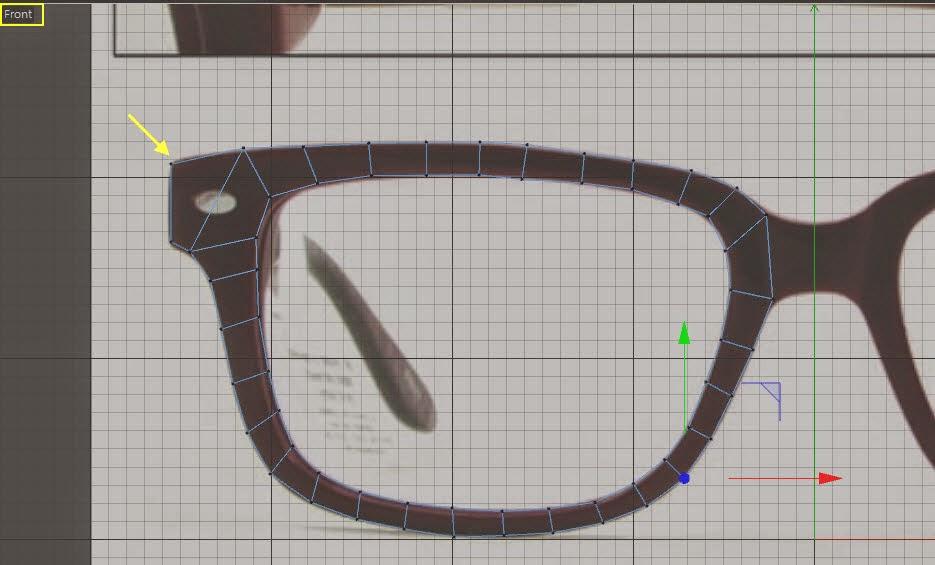 Glasses Modeling 04