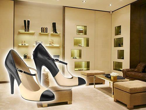 Sepatu Wanita Chanel The Two Tone