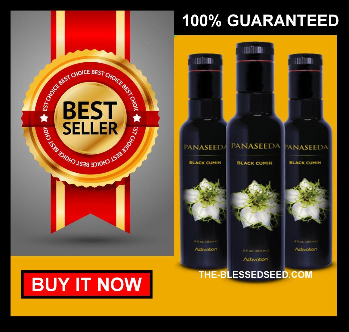 Panaseeda Black Seed Oil - #1 Recommendation