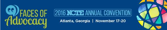 Presenting at NCTE