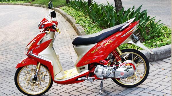 modifikasi yamaha xeondengan berbagai style modifikasi yamaha xeon  title=