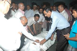 Dead body Jain sadhvi Praguna Sri