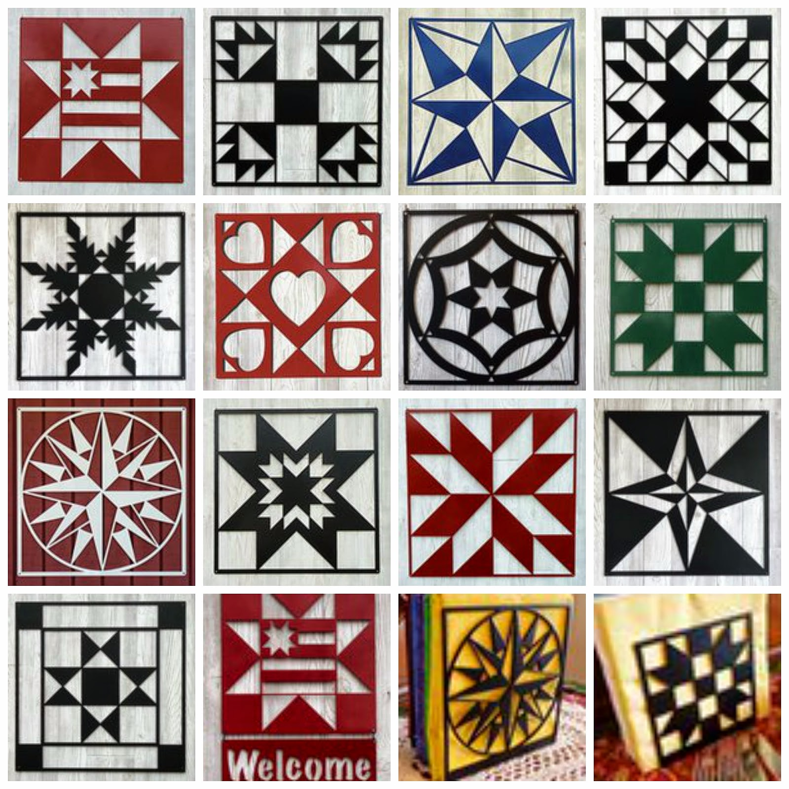 Crayon Box Quilt Studio: July 2014 : barn quilt patterns meanings - Adamdwight.com