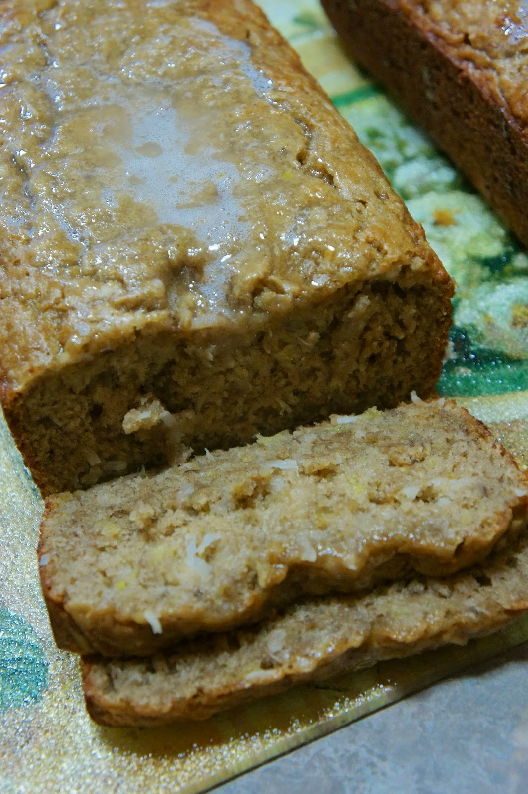 Tropical Banana Bread: Savory Sweet and Satisfying