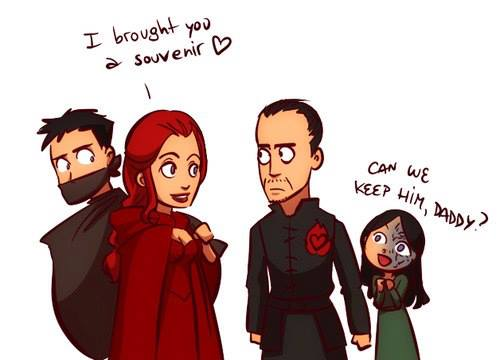 Melisandre Gendry Stannis - Juego de Tronos en los siete reinos