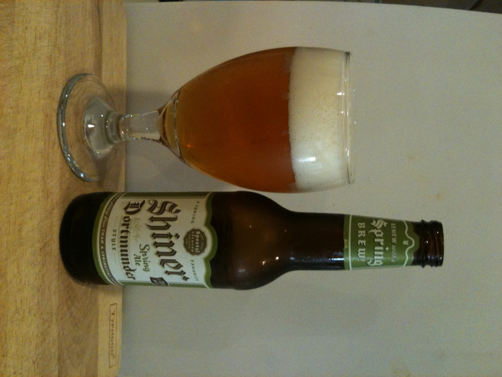 Diary of a Beer Drinker: April 2011
