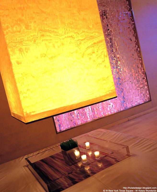 Les plus beaux hotels design du monde h tel w new york for W living room times square