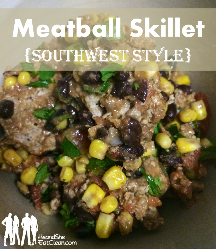 Southwest Meatball Skillet Recipe — Dishmaps