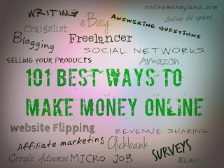 100 online money making ways