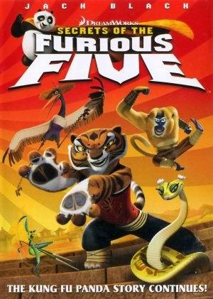 Cover, resensi film, film review, Kung Fu Panda : The Secret of The Furious Five (2008), pic