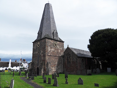 St Dubricius Church Porlock Somerset