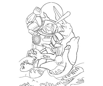 #1 Pacific Rim Coloring Page