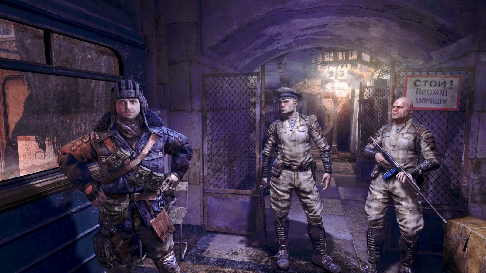 Personajes Metro Last Light