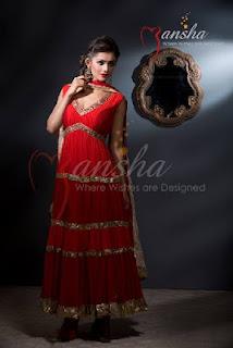 Mansha Designer Salwar Kameez Dresses