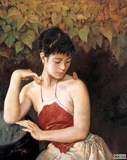 Mujeres y Paisajes de China en Pintura