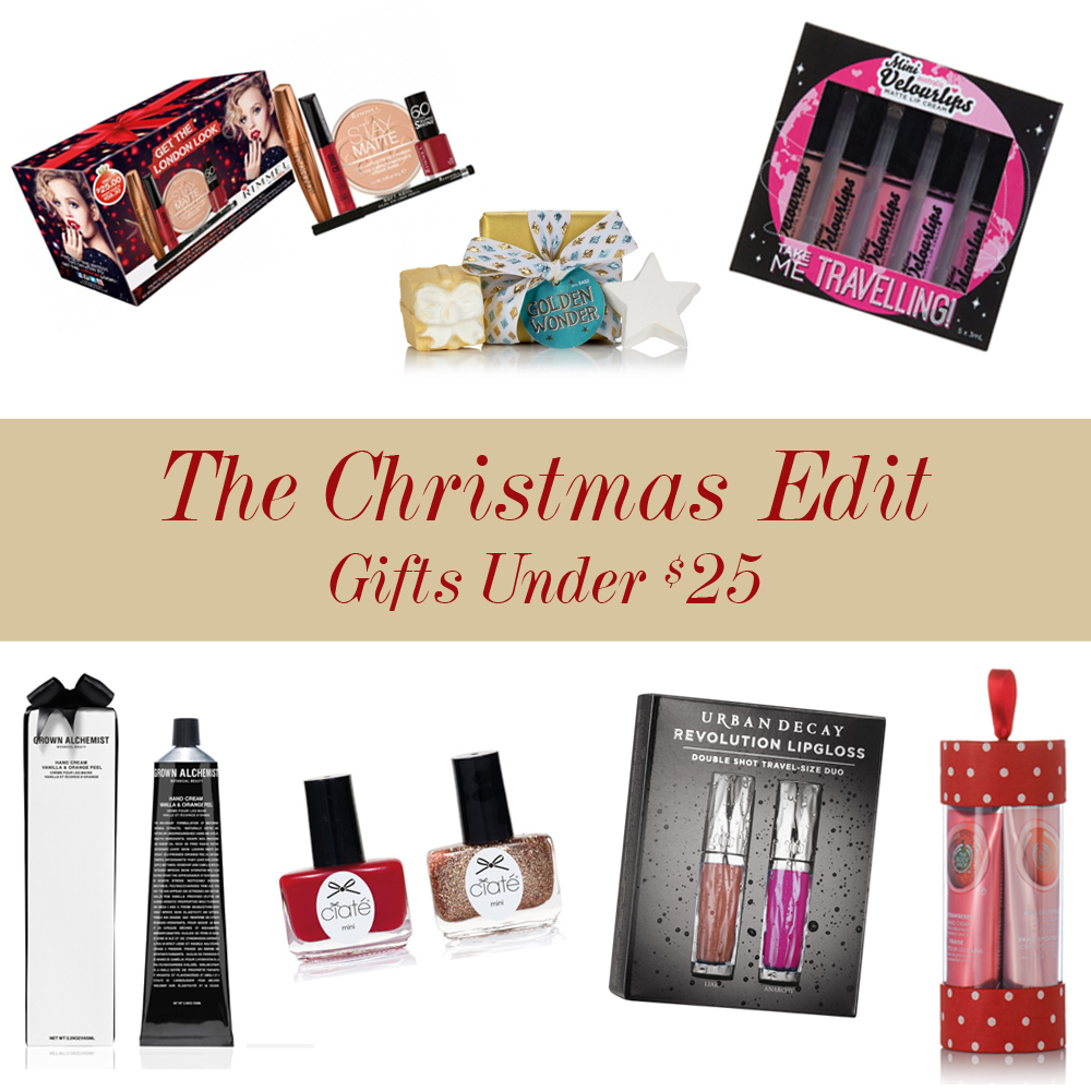 The Christmas Edit Gifts Under 25 Rosy Disposition