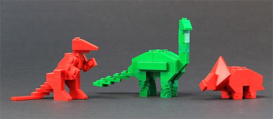Схема динозавров из лего