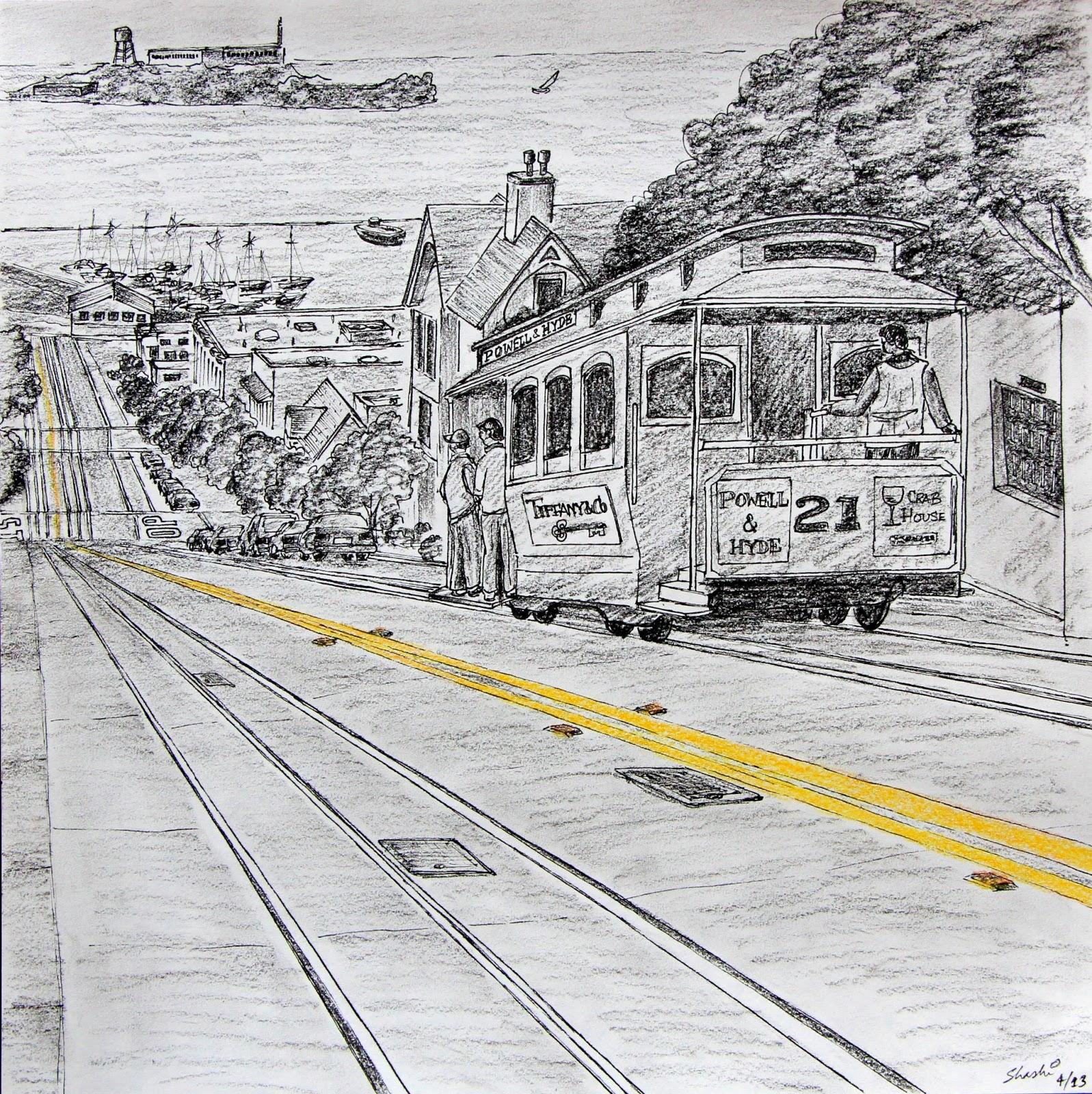ChitraKale\': San Francisco Cable Car