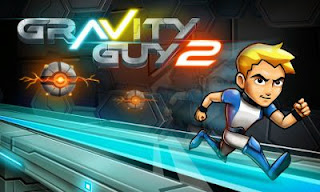 Screenshots of the Gravity Guy 2 for Android tablet, phone.