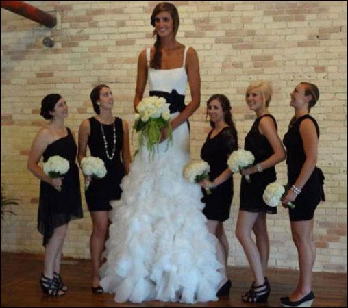 صور مضحكة - اطول عروسة فى 2013