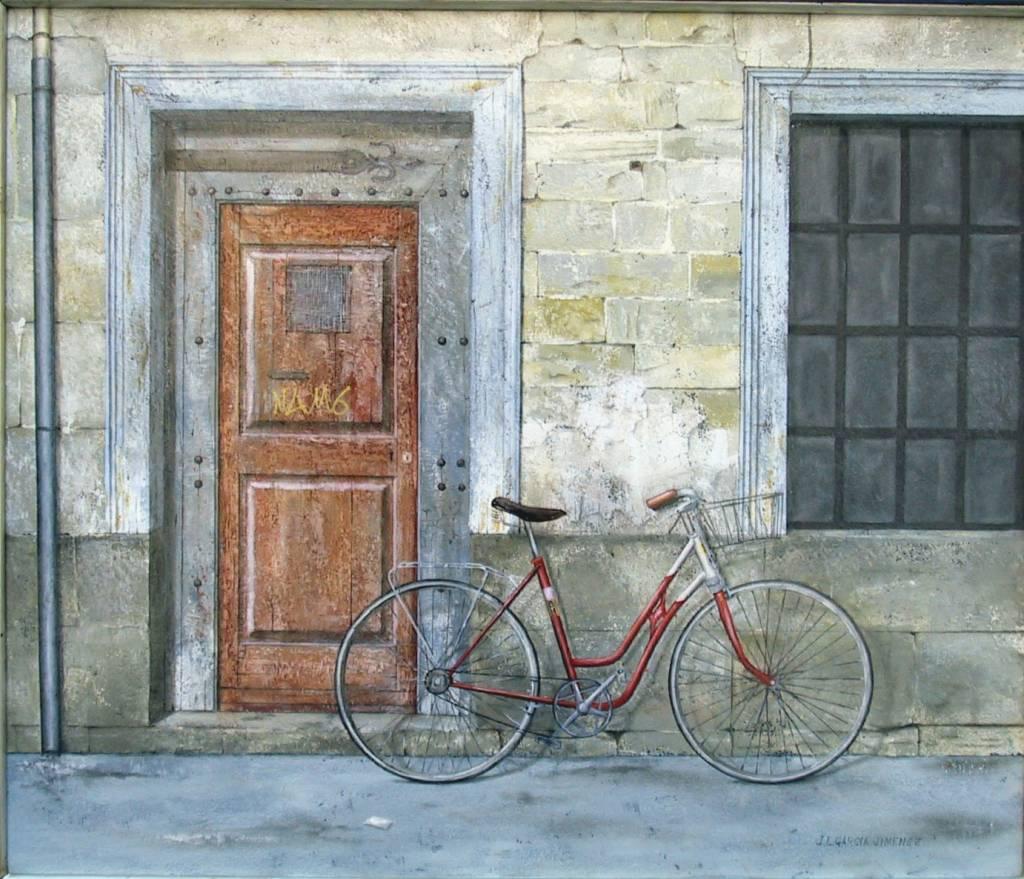 Pinturas cuadros lienzos puertas de casa viejas al oleo - Pintura para puertas ...
