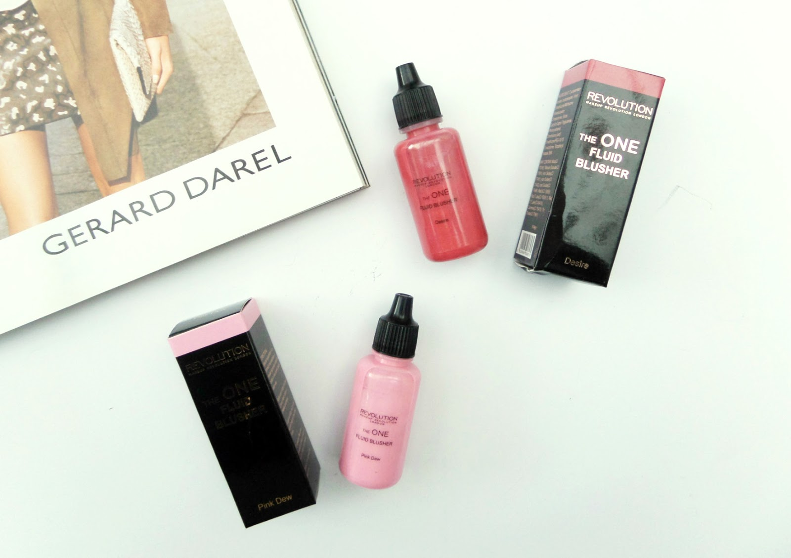 The Makeup Revolution The One Fluid Blushers Review